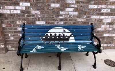 CALL FOR ARTISTS:  Apply to Paint a Downtown Chehalis Bench