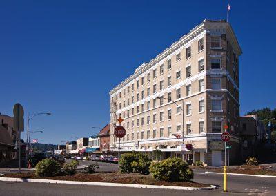Former St. Helens Hotel in Chehalis