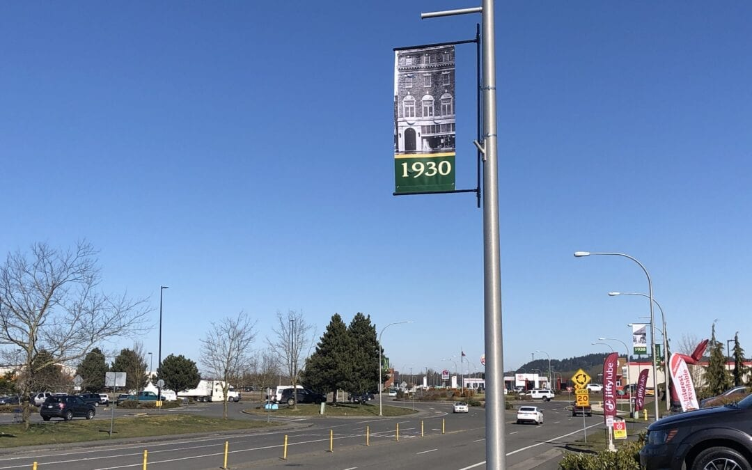 Banners Display History and Offer Sense of Place in Chehalis
