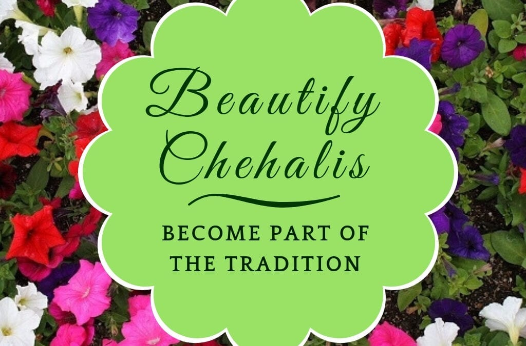 Become Part of the Tradition!  Sponsor Downtown Flowers