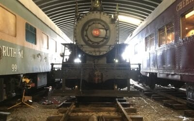Temporary Replacement Announced for 103-year-old Locomotive