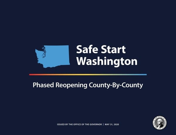 Inslee Issues Safe Start Proclamation for County Approach to Re-opening