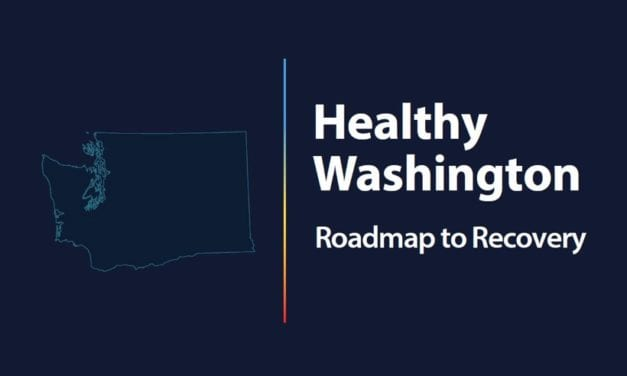 """Inslee announces """"Healthy Washington–Roadmap to Recovery"""""""
