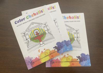Color! Chehalis Activity Book & Walking Tour for Kids